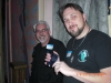 Bill and Dave in the Ballroom at Bube\'s Brewery