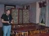 Dave investigating Ballroom at Bube\'s Brewery